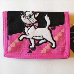 MARIE CAT TRIFOLD WALLET